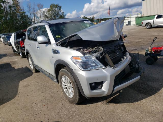 Salvage cars for sale at Harleyville, SC auction: 2018 Nissan Armada SV