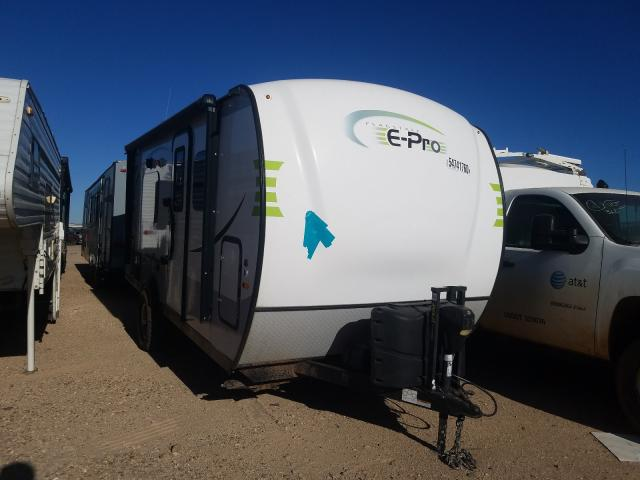 Flagstaff salvage cars for sale: 2019 Flagstaff Travel Trailer