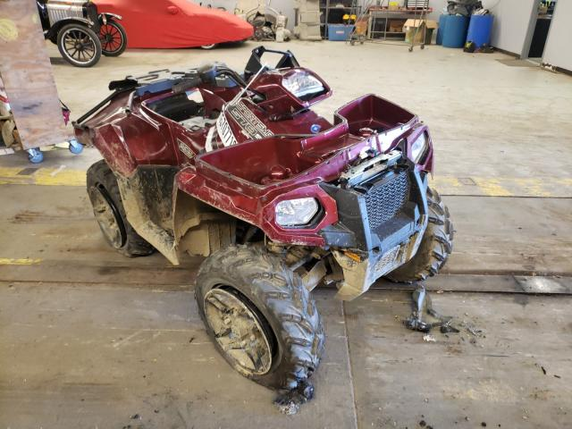 Salvage cars for sale from Copart Wheeling, IL: 2019 Polaris Sportsman