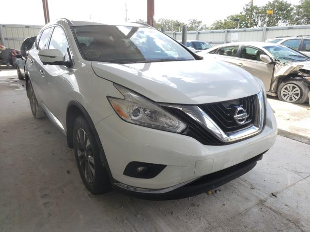 Salvage cars for sale from Copart Homestead, FL: 2016 Nissan Murano S