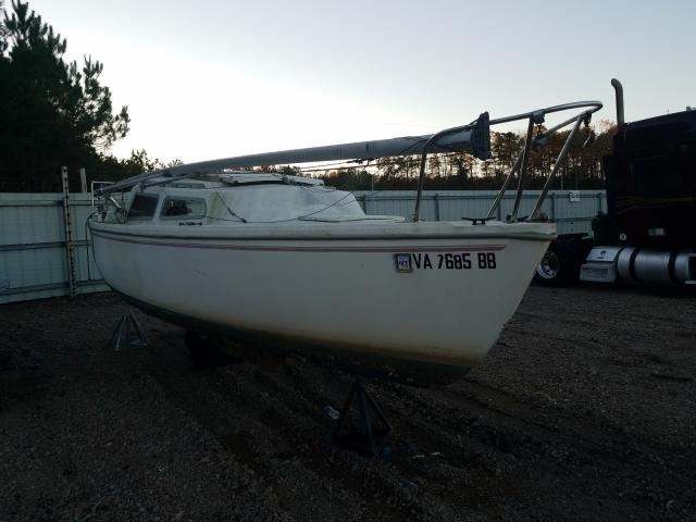 Salvage cars for sale from Copart Charles City, VA: 1977 Catalina Sailboat