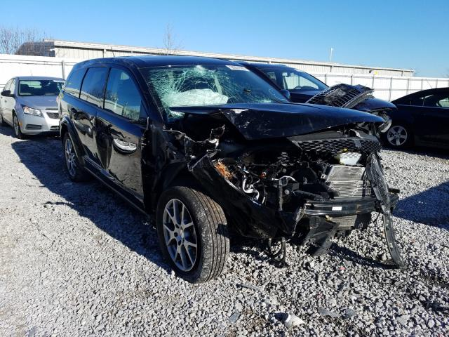 Salvage cars for sale from Copart Walton, KY: 2017 Dodge Journey GT