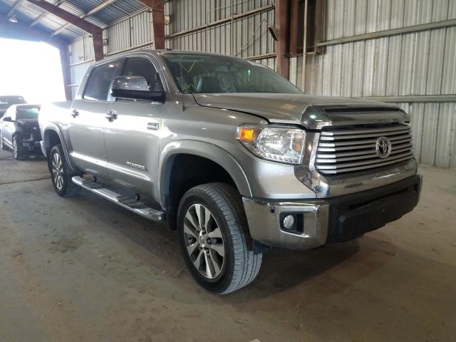 Salvage cars for sale from Copart Greenwell Springs, LA: 2017 Toyota Tundra CRE