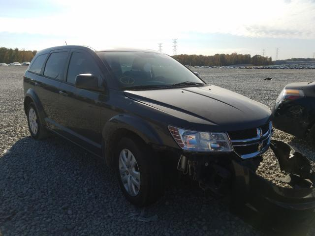 Salvage cars for sale from Copart Memphis, TN: 2014 Dodge Journey SE