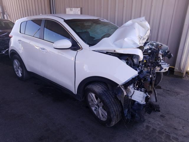 Salvage cars for sale from Copart Fort Wayne, IN: 2019 KIA Sportage L