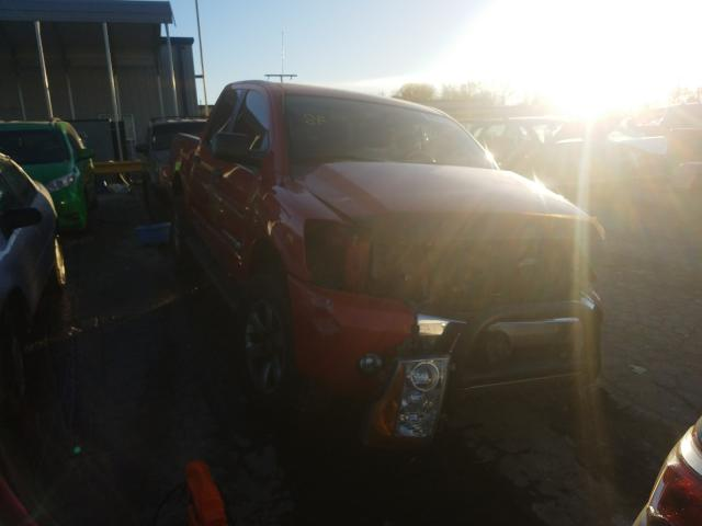 Nissan salvage cars for sale: 2012 Nissan Titan S