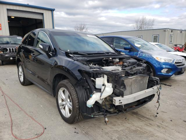 Salvage cars for sale from Copart Duryea, PA: 2013 Acura RDX Techno