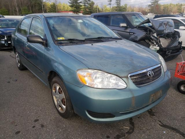 Salvage cars for sale from Copart Exeter, RI: 2006 Toyota Corolla CE