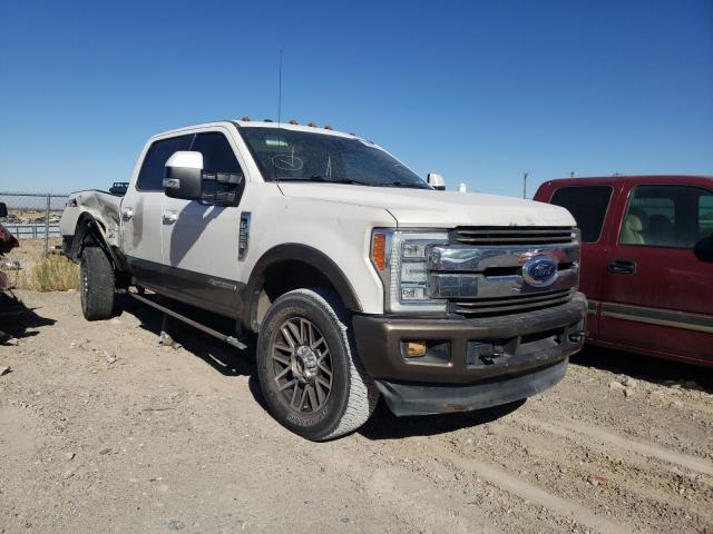 Salvage cars for sale from Copart Anthony, TX: 2017 Ford F250 Super