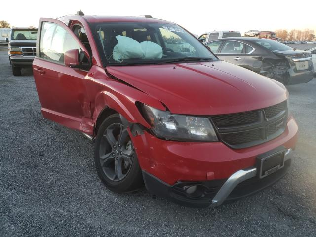 Salvage cars for sale from Copart Fredericksburg, VA: 2018 Dodge Journey CR