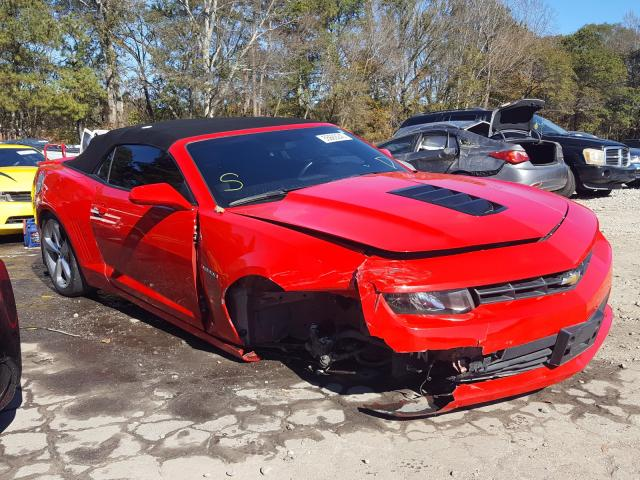 Chevrolet Camaro SS salvage cars for sale: 2014 Chevrolet Camaro SS