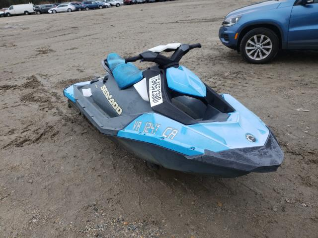 Salvage cars for sale from Copart Hampton, VA: 2017 Bombardier Jetski