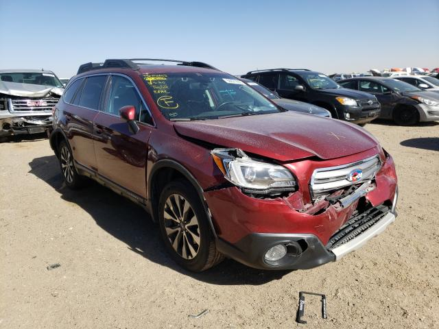Salvage cars for sale from Copart Amarillo, TX: 2015 Subaru Outback 3