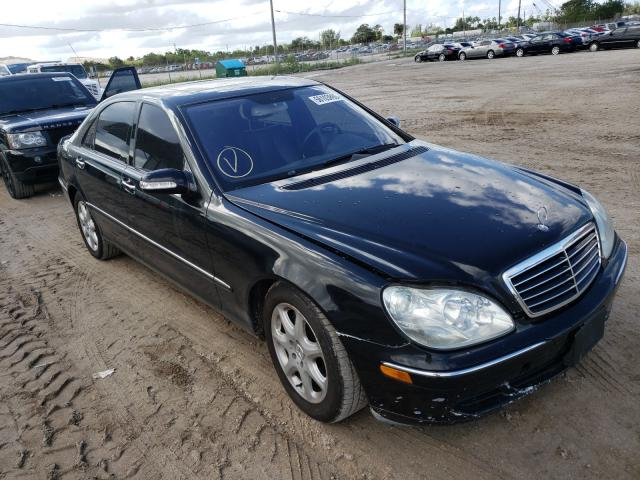 Salvage cars for sale from Copart West Palm Beach, FL: 2006 Mercedes-Benz S 500 4matic