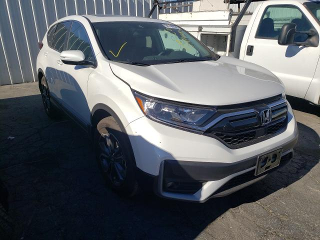 Salvage cars for sale from Copart Colton, CA: 2020 Honda CR-V EXL