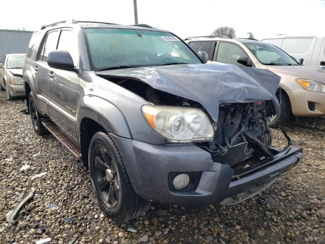 Toyota 4runner LI salvage cars for sale: 2007 Toyota 4runner LI