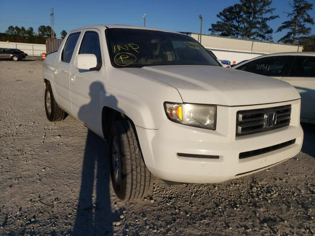 Honda salvage cars for sale: 2007 Honda Ridgeline