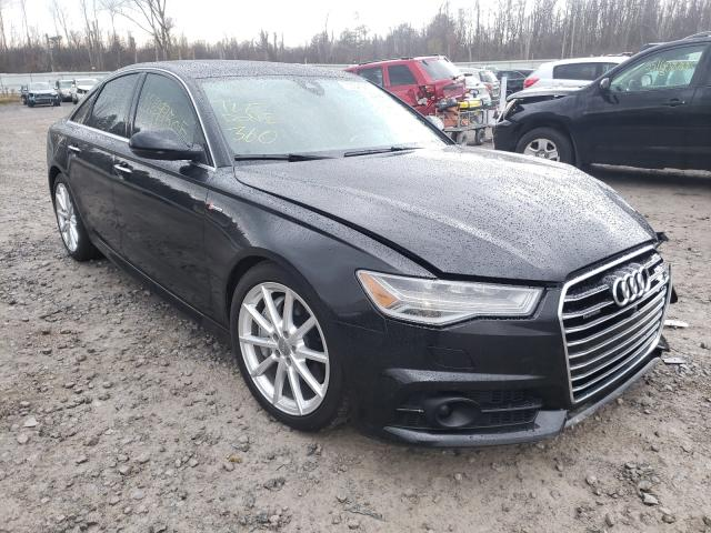 Salvage cars for sale from Copart Leroy, NY: 2017 Audi A6 Premium