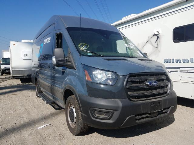 Salvage cars for sale from Copart Rancho Cucamonga, CA: 2020 Ford Transit T