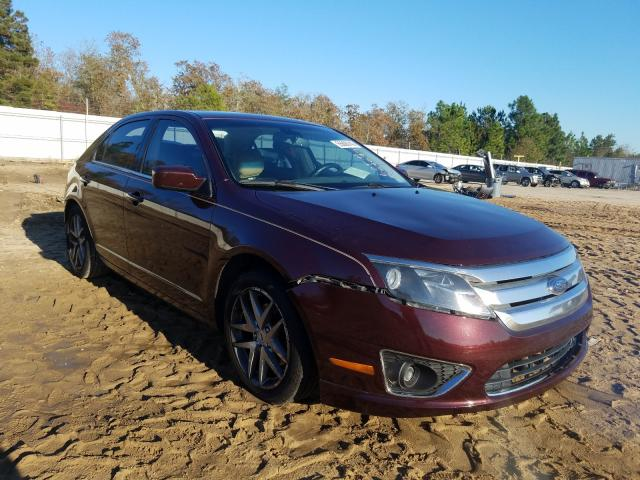 Salvage cars for sale from Copart Gaston, SC: 2012 Ford Fusion SEL