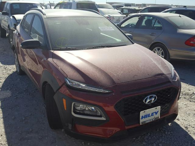 Salvage cars for sale from Copart Haslet, TX: 2020 Hyundai Kona SEL
