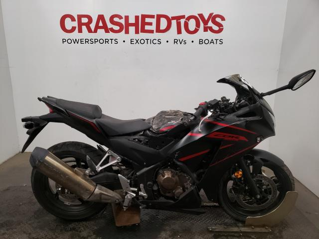 Salvage cars for sale from Copart Sacramento, CA: 2018 Honda CBR300 R