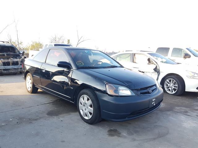 Honda salvage cars for sale: 2002 Honda Civic EX