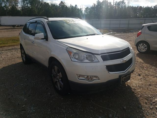 Salvage cars for sale from Copart Charles City, VA: 2012 Chevrolet Traverse L