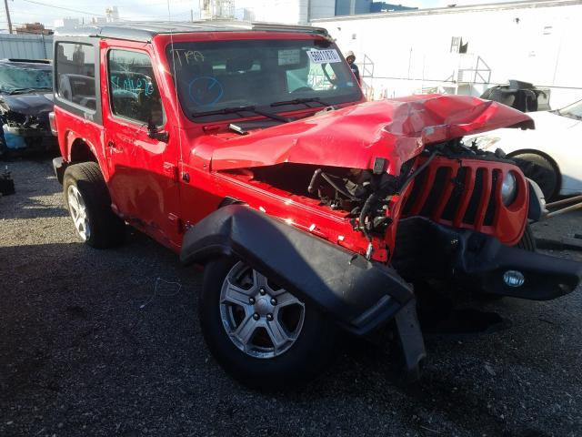 Jeep Vehiculos salvage en venta: 2020 Jeep Wrangler S