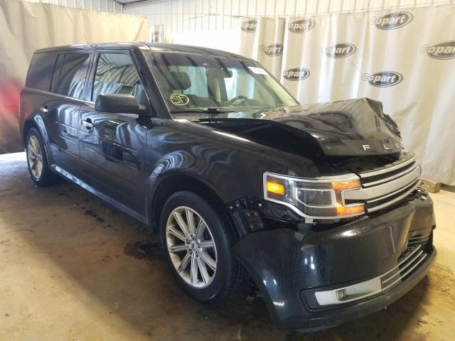 Salvage cars for sale from Copart Tifton, GA: 2018 Ford Flex Limited