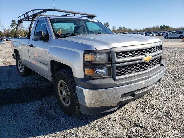 Salvage cars for sale from Copart Lumberton, NC: 2015 Chevrolet Silverado