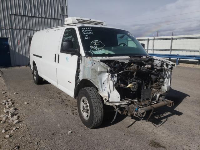 Salvage cars for sale from Copart Reno, NV: 2007 GMC Savana G35