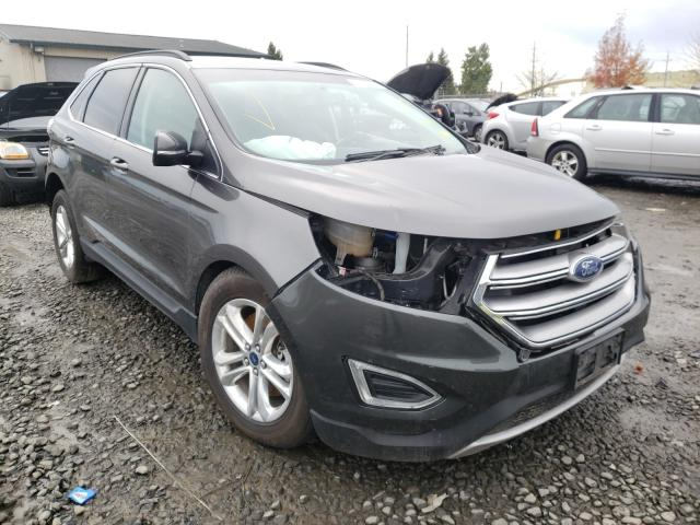 Salvage cars for sale from Copart Eugene, OR: 2015 Ford Edge SEL