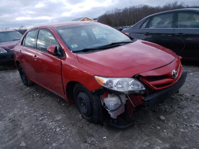 Salvage cars for sale from Copart West Warren, MA: 2011 Toyota Corolla BA