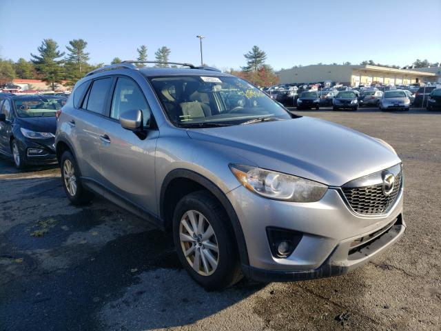 Salvage cars for sale from Copart Exeter, RI: 2013 Mazda CX-5 Touring