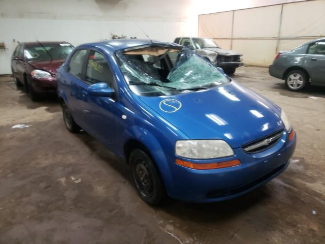 Chevrolet Aveo salvage cars for sale: 2006 Chevrolet Aveo