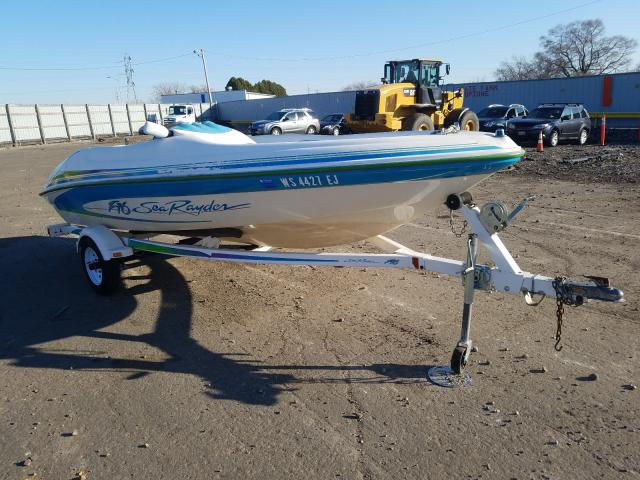 Sea Ray salvage cars for sale: 1996 Sea Ray Boat