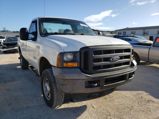 Salvage cars for sale from Copart Kapolei, HI: 2005 Ford F250 Super
