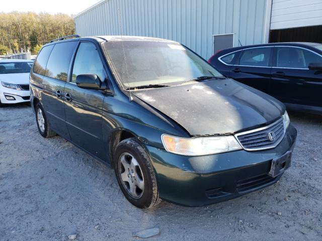 Salvage cars for sale from Copart Hampton, VA: 2001 Honda Odyssey EX