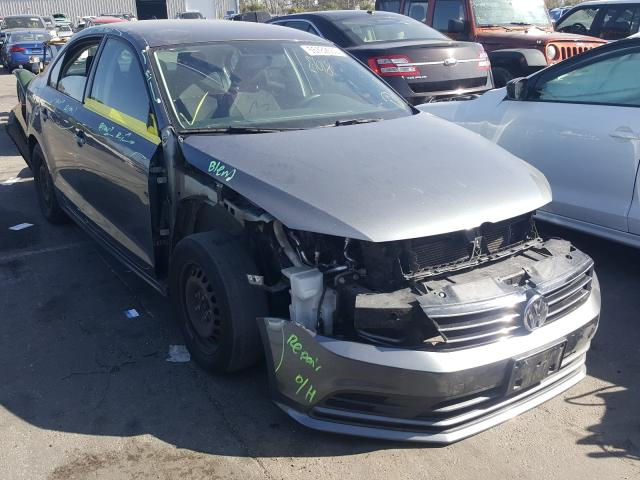 Salvage cars for sale from Copart Colton, CA: 2016 Volkswagen Jetta S