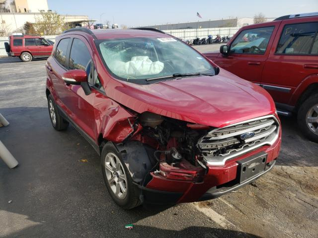 Salvage cars for sale from Copart Tulsa, OK: 2018 Ford Ecosport S