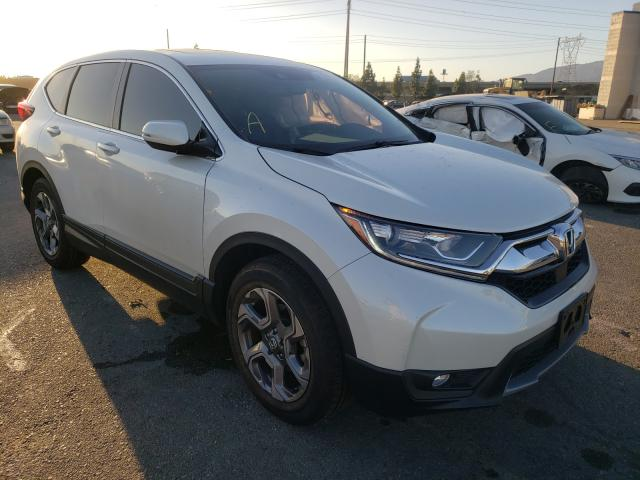 Salvage cars for sale from Copart Rancho Cucamonga, CA: 2017 Honda CR-V EXL