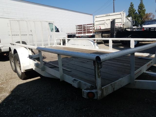 Salvage cars for sale from Copart Rancho Cucamonga, CA: 2020 Big Tex Utility Trailer