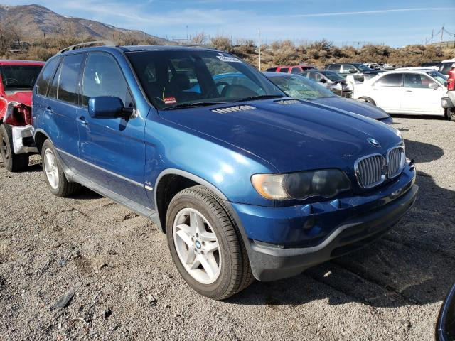 Salvage cars for sale from Copart Reno, NV: 2003 BMW X5 4.4I