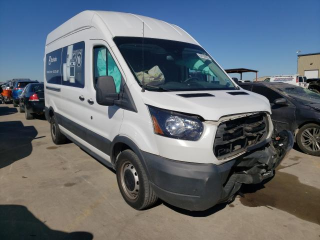 Salvage cars for sale from Copart Wilmer, TX: 2018 Ford Transit T