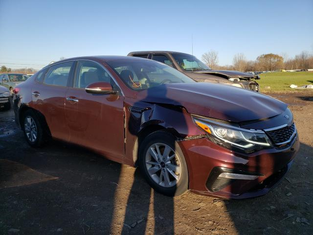 Salvage cars for sale from Copart Columbia Station, OH: 2019 KIA Optima LX