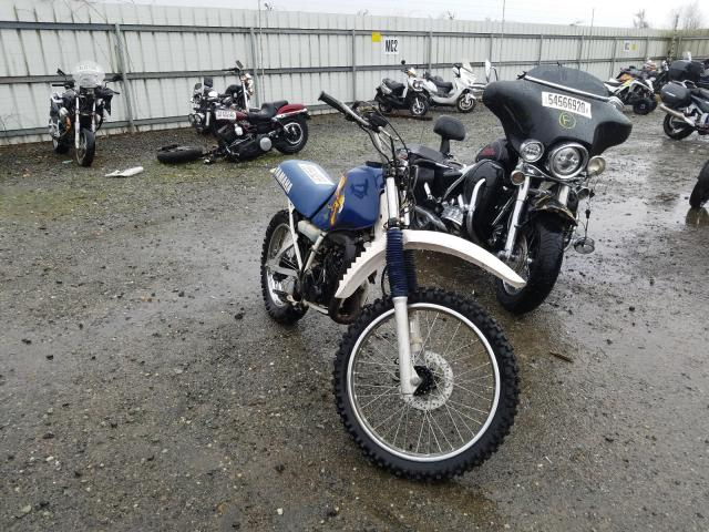 Salvage cars for sale from Copart Arlington, WA: 1996 Yamaha RT180