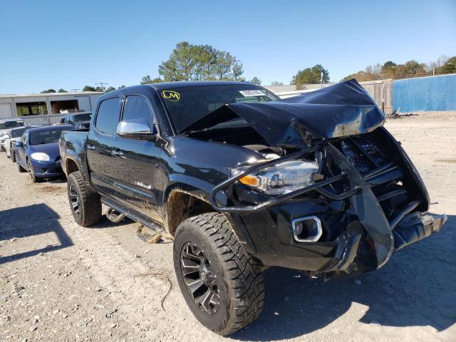 Salvage cars for sale from Copart Florence, MS: 2016 Toyota Tacoma DOU