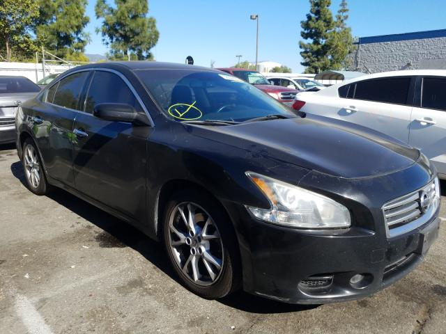 Salvage cars for sale from Copart Rancho Cucamonga, CA: 2014 Nissan Maxima S