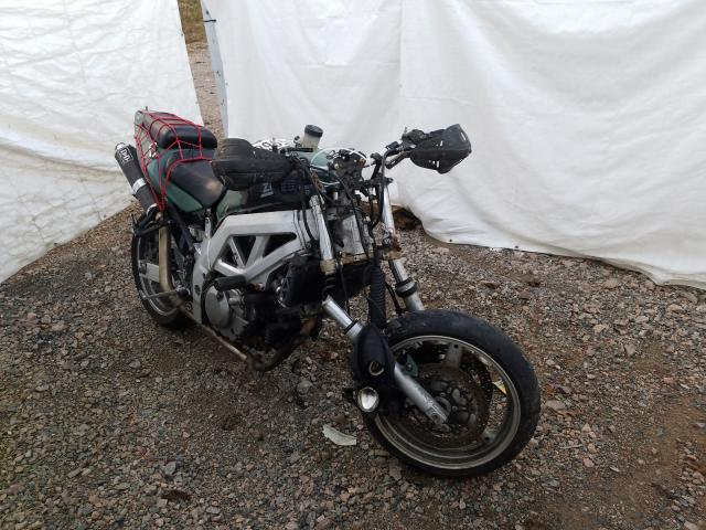 Salvage cars for sale from Copart Charles City, VA: 2003 Suzuki SV650
